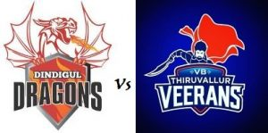 DINDIGUL DRAGONS VS VB THIRUVALLUR VEERANS 28 07 2017
