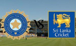 Sri Lanka VS  India TEST MATCH