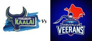 Karaikudi Kaalai  VS VB Thiruvallur Veerans