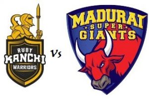 Ruby Trichy Warriors  V S  Madurai Super Giant 02 08 17 06:45PM