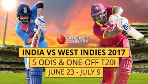 India tour of West Indies, 5th ODI: West Indies v India at Kingston, Jul 6, 2017