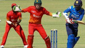 SRI LANKA VS ZIMBABWE 5TH ODI