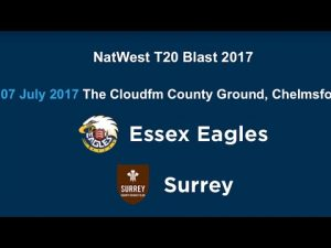 SURREY VS ESSEX 19 07 2017 10:30P