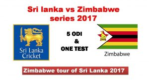 Sri lanka Vs Zimbabwe test 2017:07:14
