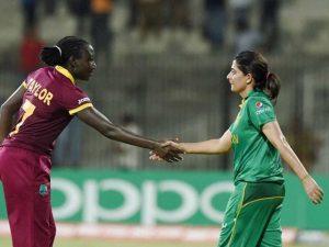 pakistan woman vs west indies
