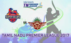 Albert TUTI Patriots VS Chepauk Super Gillies 20 08 17 06:45PM