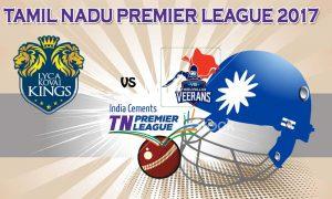 VB Thiruvallur Veerans VS  Lyca Kovai Kings 12 08 17 6:45PM