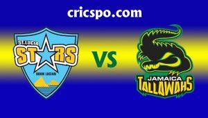 Jamaica Tallawahs VS St Lucia Stars 26 08 17 06:00AM