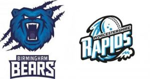 BIRMINGHAM BEARS VS WORCESTERSHIRE  04 08 17 11:00PM
