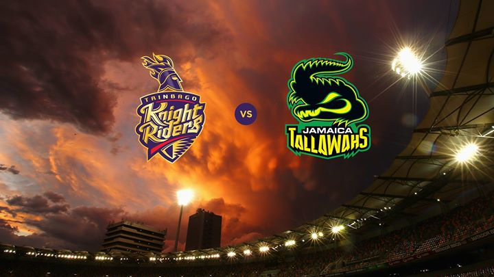 TRINBAGO KNIGHT RIDERS VS JAMAICA TALLAWAHS 10 08 17 5:00AM