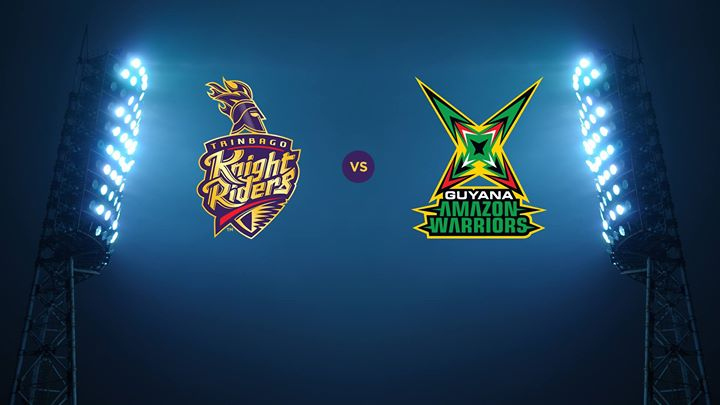 TRINBAGO KNIGHT RIDERS VS GUYANA AMAZON WARRIORS 11 08 17 6:00AM