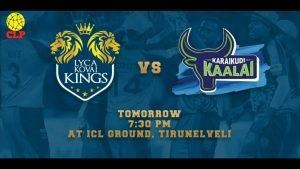 Lyca Kovai Kings VS Karaikudi Kaalai 16 08 17 06:45PM