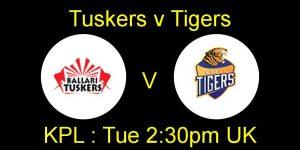 Bellary Tuskers  VS  Hubli Tigers 19 09 17 02:45PM